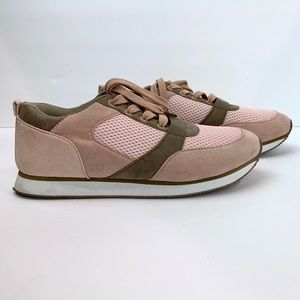 JustFab Sneakers Blush Pink Size 10